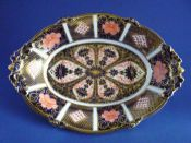 Royal Crown Derby 'Old Imari Japan' Pattern 1128 Acorn Dish c1935